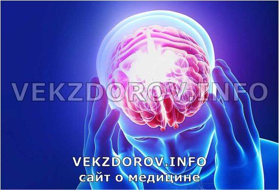 мозг при сотрясении