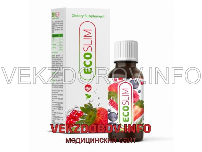 Eco Slim for efficient weight loss: burn fat and protect your health